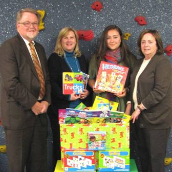 Pediatric Speech Therapy Services Receives Donation