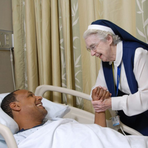 nun and patient